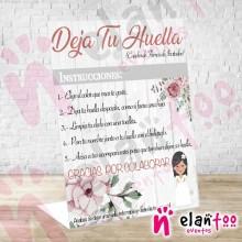 Instrucciones Niña Morena y Flores
