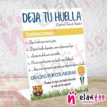 Instrucciones Niño FC Barcelona