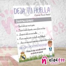 Instrucciones Niño Real Madrid