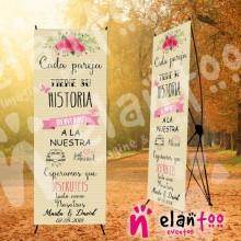 Banner cada pareja tiene su historia, bienvenidos a la nuestra