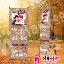 Banner novios cada pareja tiene su historia