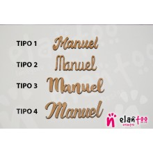 Marcasitios Nombres de Madera