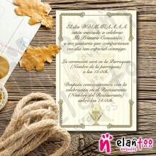 Invitación Cáliz