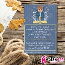 Invitación Pajaritos Niño