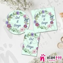 Etiqueta Flores