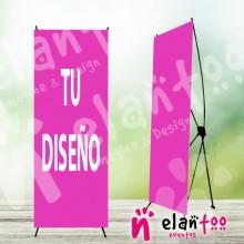 Cartel de bienvenida banner con tu diseño de comunión