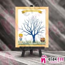 Árbol de Huellas Niño FC Barcelona