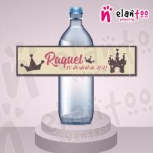Etiqueta para Botella de Agua Castillo