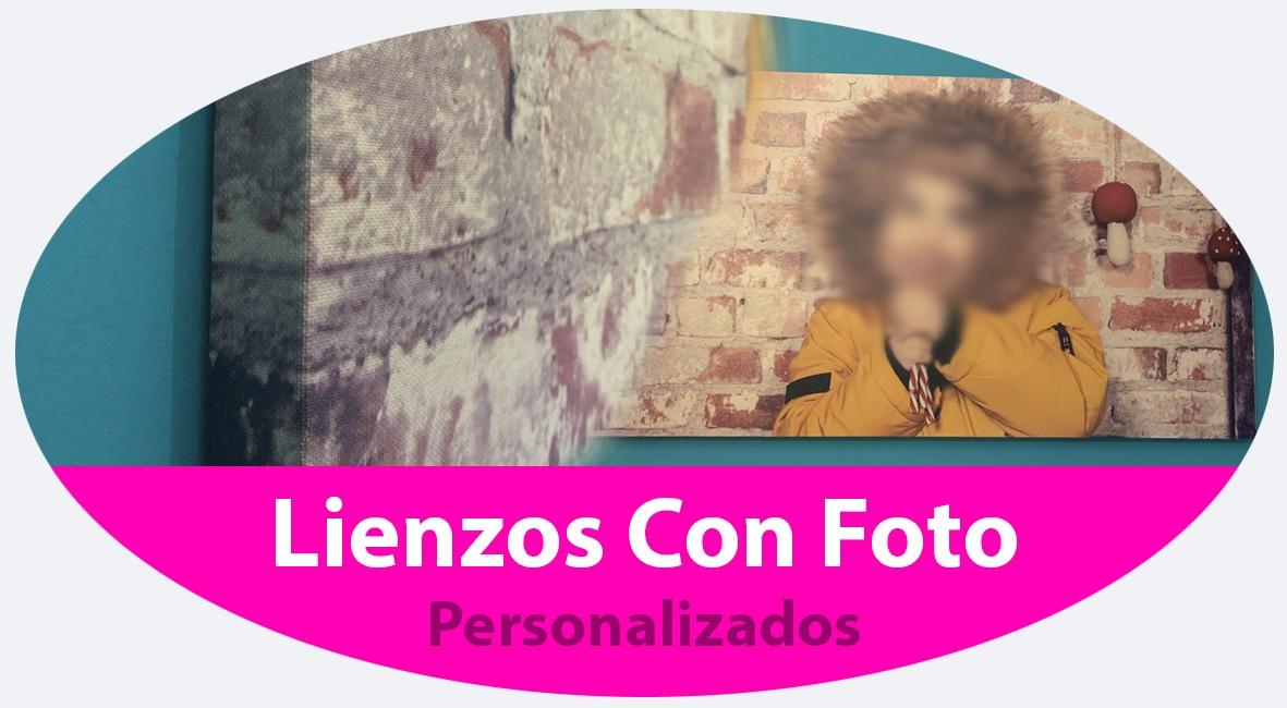 Lienzos con foto personalizados